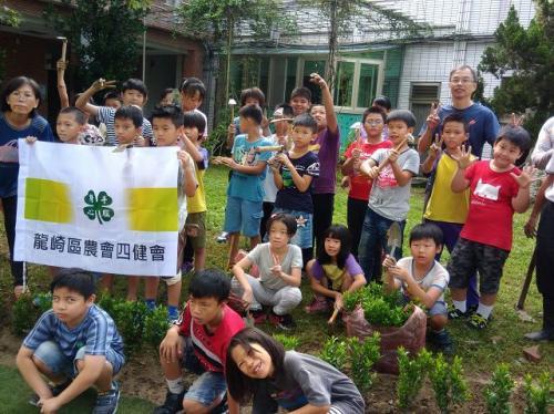 永續 植樹 美化校園